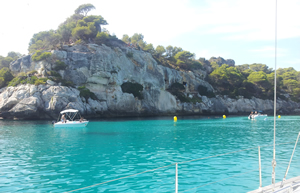 Viaje en velero por Menorca, Mallorca y Cabrera