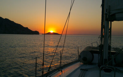 Viaje en velero por las Islas Egadas (Sicilia)