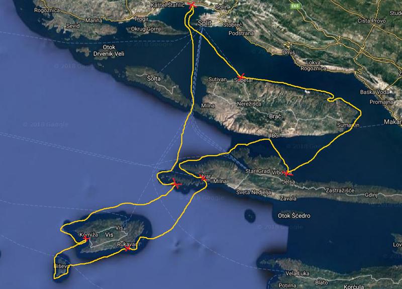 Mapa-Dalmacia