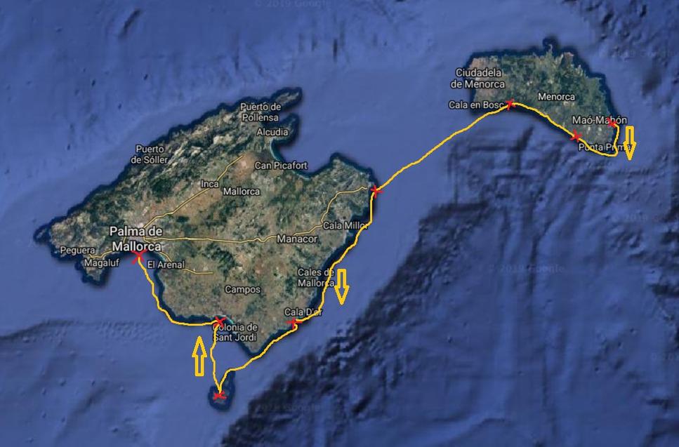 ruta-barco-Menorca-Mallorca