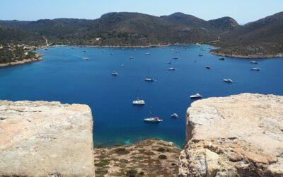 Viaje en velero por Menorca y Mallorca