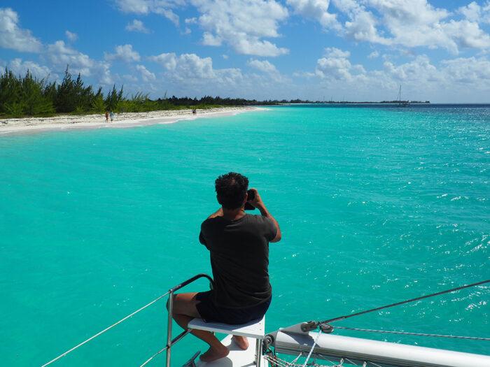 viaje catamaran cuba