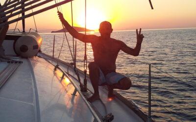 Viaje en velero por las Islas Egadas