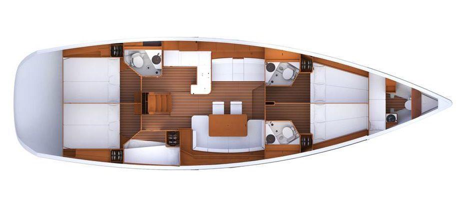 velero de 12 plaza para estas vacaciones en barco por croacia