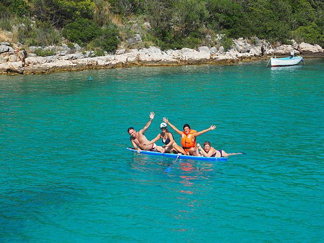 viaje en velero a Croacia plaza a plaza
