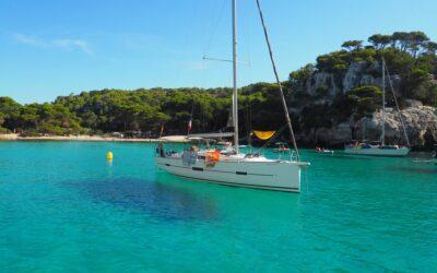 Viaje en velero a Menorca (salida Mahón; llegada Barcelona)