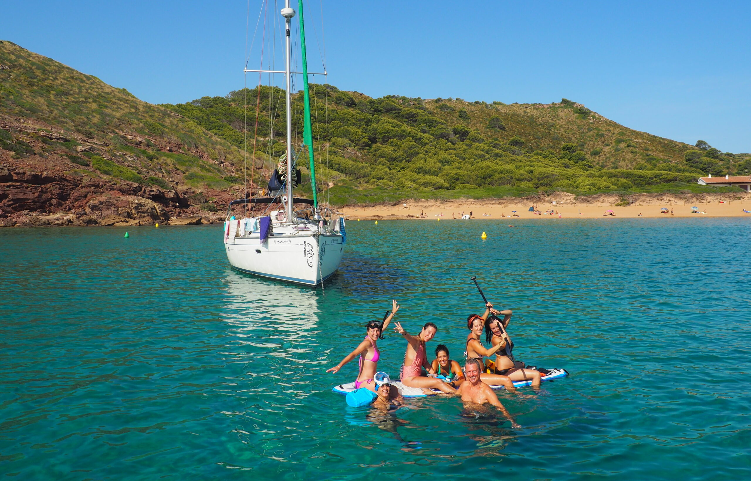 Viaje en velero a Menorca (salida y llegada en Mahón)
