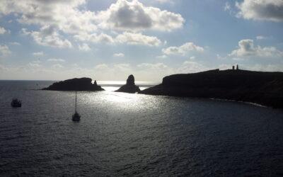Viaje en velero por las Islas Columbretes y el Delta del Ebro.